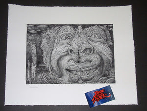 David Welker The Nose Knows Art Print Billy Breaths Phish 2018