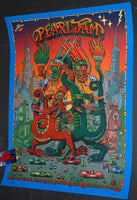David Welker Pearl Jam Poster New York 2016 Artist Edition