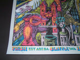 David Welker Phish Poster Seattle Key Arena 2014 Rare Printers Proof