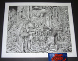 David Welker The Acrobats Art Print S/N