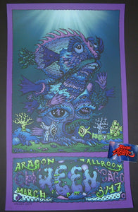 David Welker Ween Poster Chicago 2017 Artist Edition Night 2