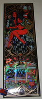 Dayne Henry Queens of the Stone Age Poster Las Vegas Thatched Foil Variant 2018 Artist Edition