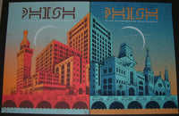 Doe Eyed Design Phish Posters Columbia Artist Proof Set Signed 2013