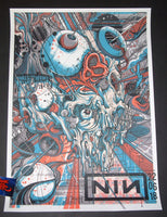 Drew Millward Nine Inch Nails Poster London 2018 Artist Edition