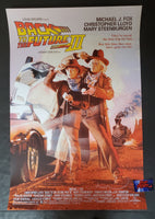 Drew Struzan Back to the Future Part III Movie Poster Signed Variant 2020