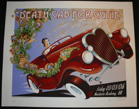 Emek Death Cab For Cutie Manchester England Poster S/N Cream Variant 2006