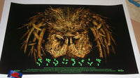 Elvisdead Predator Movie Poster Glow in the Dark Variant 2016