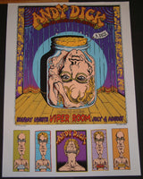 Emek Andy Dick Los Angeles AP Sheet Poster 2000