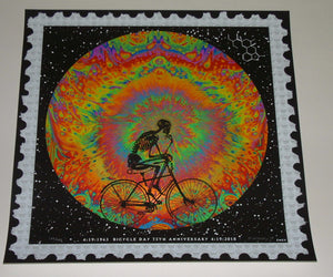Emek Bicycle Day Art Print 2018 75th Anniversary