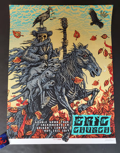 Emek Eric Church Sacramento Poster 2019 Night 2