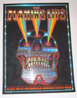 Emek Flaming Lips Poster Troutdale Stained Glass Foil Variant 2013 Artist Edition