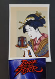 Emek Geisha Handbill Print 2 Color Background Variant 2004