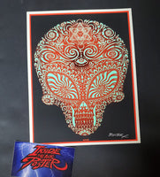 Emek Jane's Addiction Sasquatch Handbill Print Glow in the Dark Variant 2009