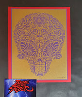 Emek Jane's Addiction Sasquatch Handbill Print Gold Purple Variant 2009