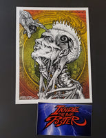Emek Opyn Your Mynd Handbill Pearl Variant Red Large 2012