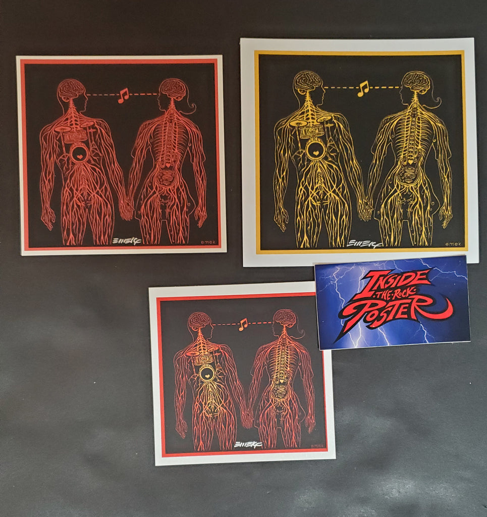 Emek PDX Pop Now Handbills Print Variants 2009