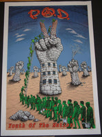 Emek P.O.D. POD Youth of the Nation Concert Tour Poster 2002