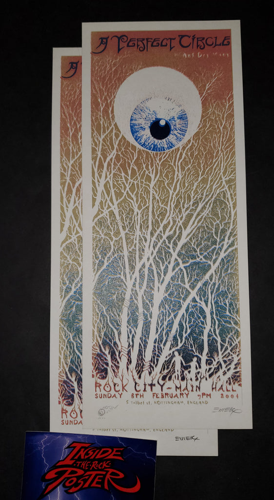 Emek A Perfect Circle Nottingham Handbill Print B Variant 2004