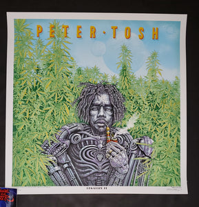 Emek Peter Tosh Legalize It Poster 2020
