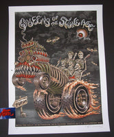 Emek Queens of the Stone Age Los Angeles Poster 2014 Artist Proof