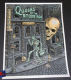 Emek Queens of the Stone Age Poster New York City 2017 Artist Edition
