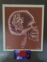 Emek Tool Berlin Handbill Print Brown Purple Variant 2006