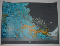 Erica Williams þær Falla Gumnom Nær Art Print 2013
