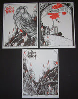 Erica Williams Secret of Nimh Movie Letterpress Poster Set 2014 Artist Edition