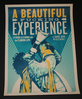 Shepard Fairey Wayne Coyne Beautiful Fucking Experience Poster 2013 S/N