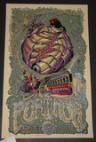 David Welker AJ Masthay Furthur Poster Port Chester 2013 Artist Proof S/N