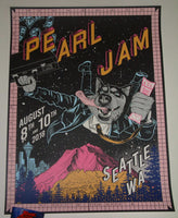 Faile Pearl Jam Seattle Poster 2018 Home Shows