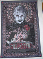Florian Bertmer Hellraiser Movie Poster Mondo with Box Pin 2011