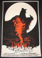 Francesco Francavilla The Howling Poster 2014 Werewolf Movie