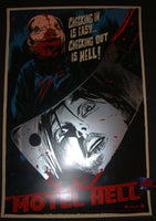 Francesco Francavilla Motel Hell Movie Poster Art Foil Cleaver Variant 2014