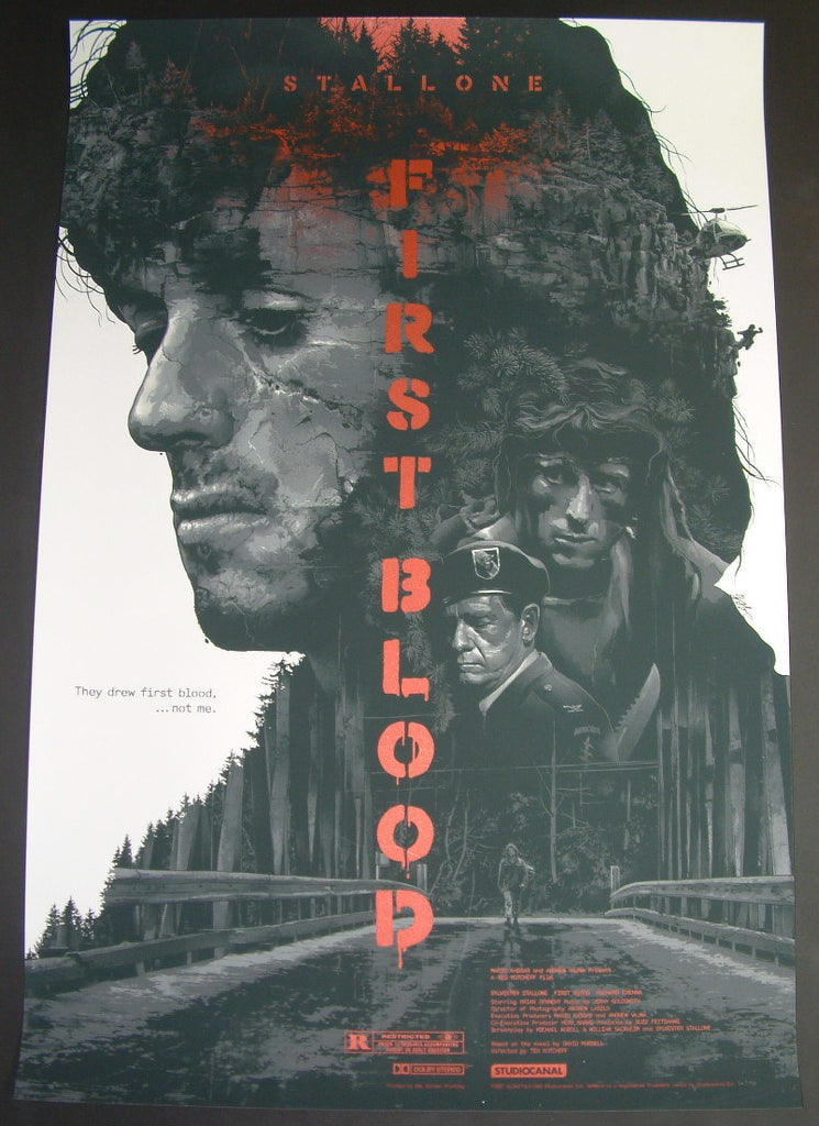 Gabz Rambo First Blood Movie Poster 2015