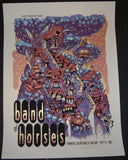 Guy Burwell Band of Horses Portland Concert Poster 2011 S/N