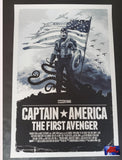 Gabz Captain America The First Avenger Movie Poster Courage Variant 2019