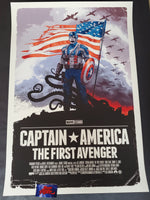 Gabz Captain America The First Avenger Movie Poster Freedom Variant 2019