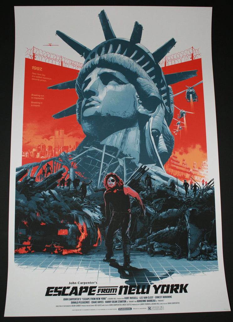 Gabz Escape From New York Movie Poster 2014