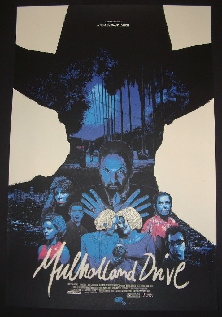 Gabz Mulholland Drive Movie Poster 2014 David Lynch