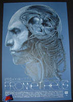 Gabz Prometheus Movie Poster Blue Variant 2017 Alien