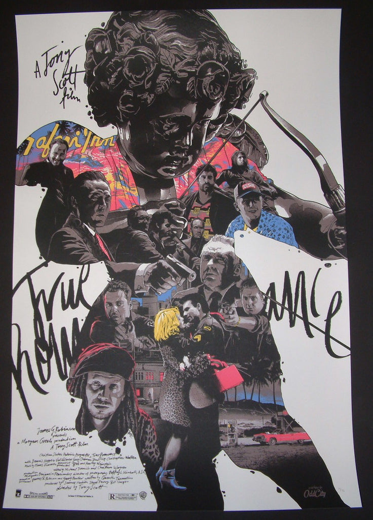 Gabz True Romance Movie Poster Los Angeles Color Variant 2014