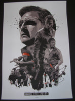 Gabz The Walking Dead Television Show Poster 2013