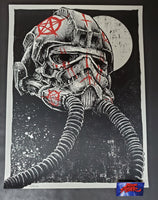 Godmachine Long Time Dead Art Print 2014