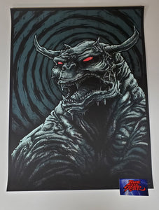 Godmachine Ghostbusters OK Who Brought The Dog Art Print 2014