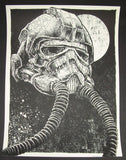 Godmachine Long Time Dead Star Wars Art Print 2014 Artist Proof Glow in the Dark Variant