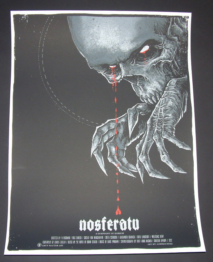 Godmachine Nosferatu Movie Art Print 2015 Dracula