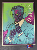 Godmachine Two Face Art Print 2014