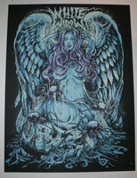 Godmachine White Widow Poster Marijuana Strain 2014 Glow in the Dark