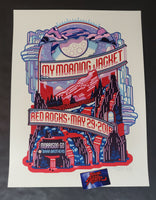 Guy Burwell My Morning Jacket Red Rocks Poster Artist Edition Night 2 2016